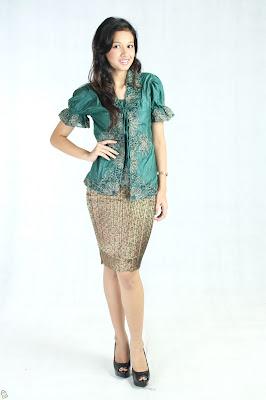 Gaun Rok Kebaya Remaja Modern Modis Model Terbaru