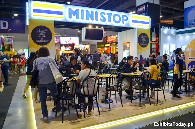 Ministop Tradeshow Display