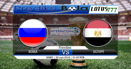 Prediksi Skor Russia vs Egypt 20 Juni 2018
