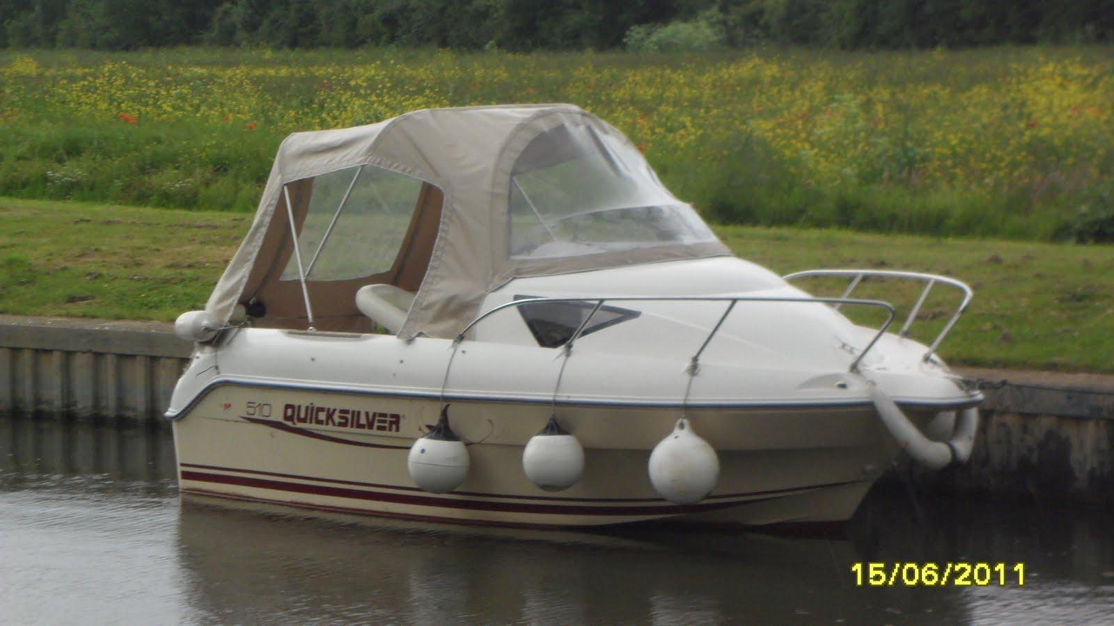 Quicksilver 510 Cruiser Sold
