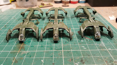 3 more Condor medium dropships finished.