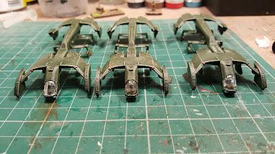 3 more Condor medium dropships finished.