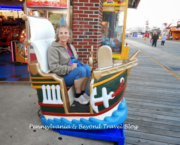 The Exciting and Fun Wildwood Boardwalk