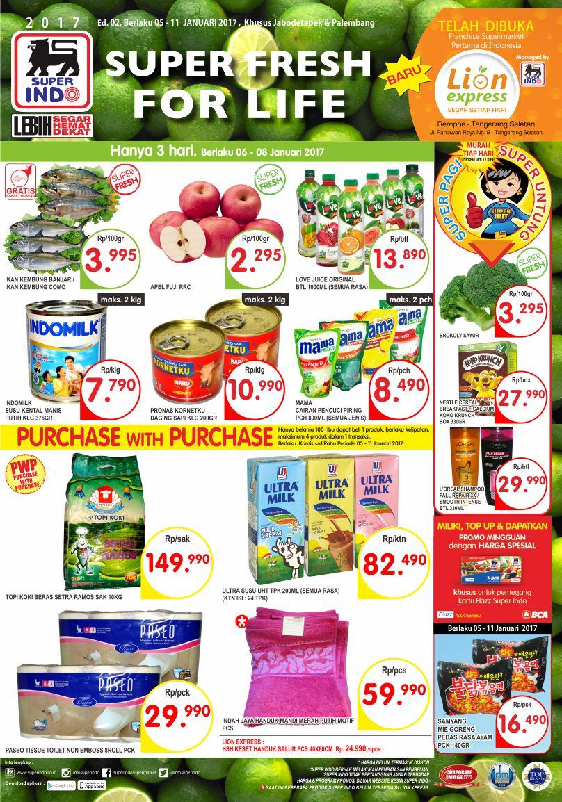 Katalog Harga Promo Superindo Super Hemat 5 – 11 Januari 2017