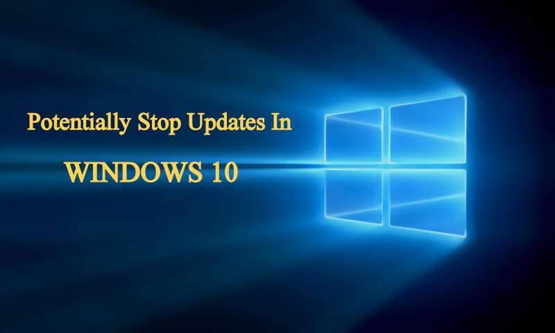 stop update windows 10 forever