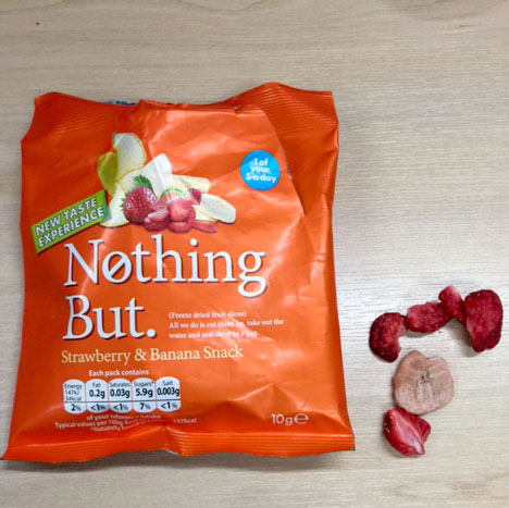 Nothing But freeze dried fruit
