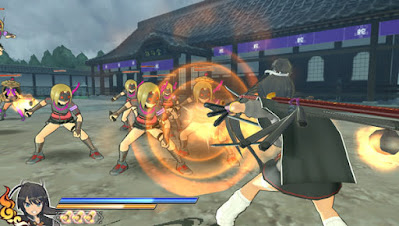 Download Game Senran Kagura Shinovi Versus PC