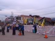 UU MD3 Membungkam Rakyat, PMII KUTIM Geruduk Kantor DPRD