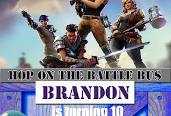 Free Downloadable Fortnite Birthday Invitations Grochow
