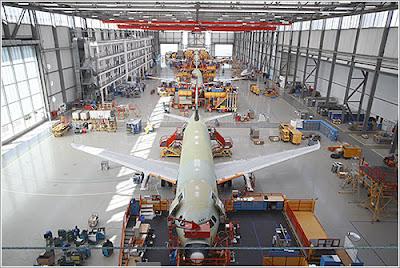 fabrica de airbus francia