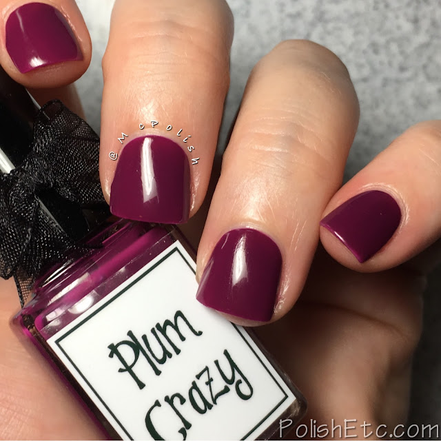 Whimsical Ideas by Pam - Hallowhimsy 2017 - McPolish - Plum Crazy