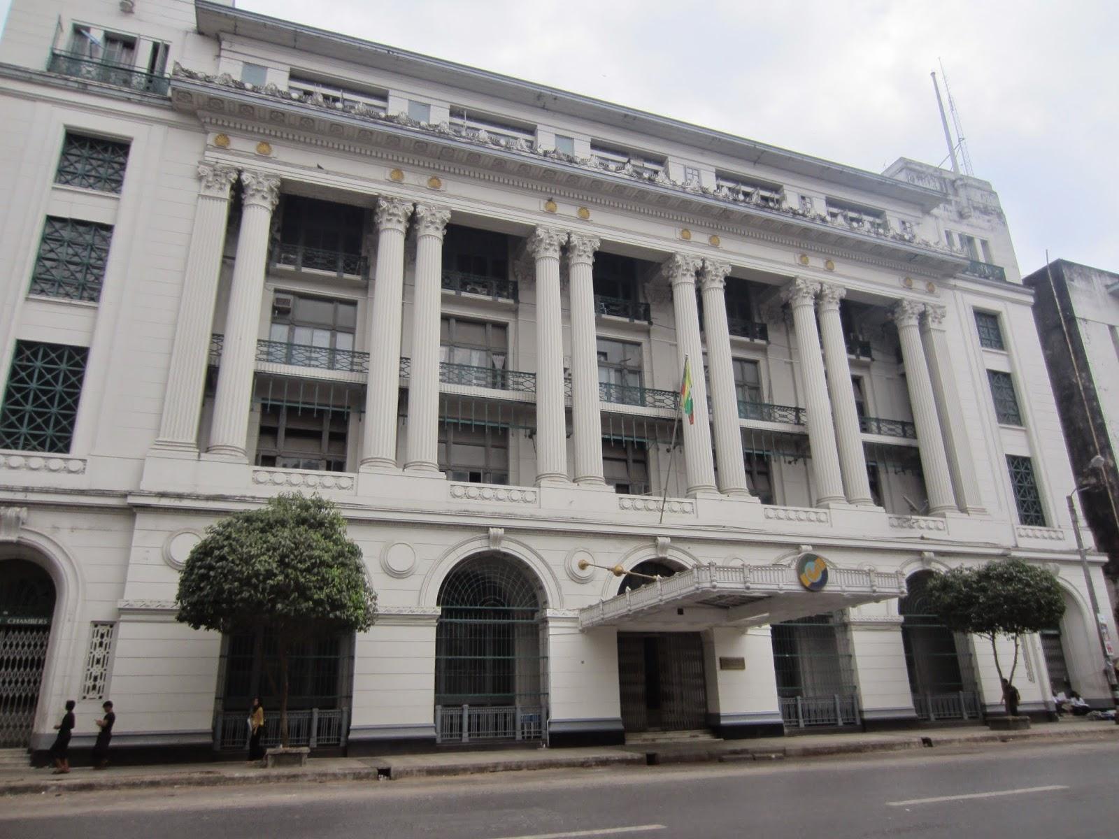Colonial Walking Tour Yangon