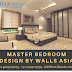 Master Bedroom Interior Designs by Walls Asia