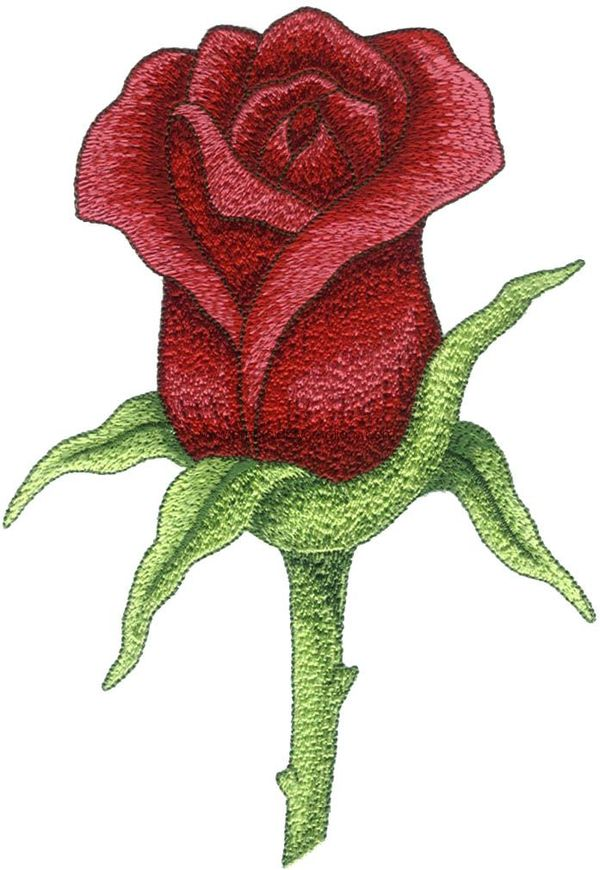 Brother Embroidery Rose Design