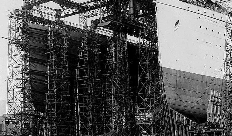Construcción RMS Olympic