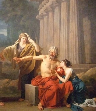 The fatal flaws of the characters in oedipus rex oedipus at colonus and antigone of sophocles