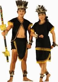 Nama-Pakaian-Adat-Kalimantan-Timur-Pria-dan-Wanita-penjelasan-lengkap