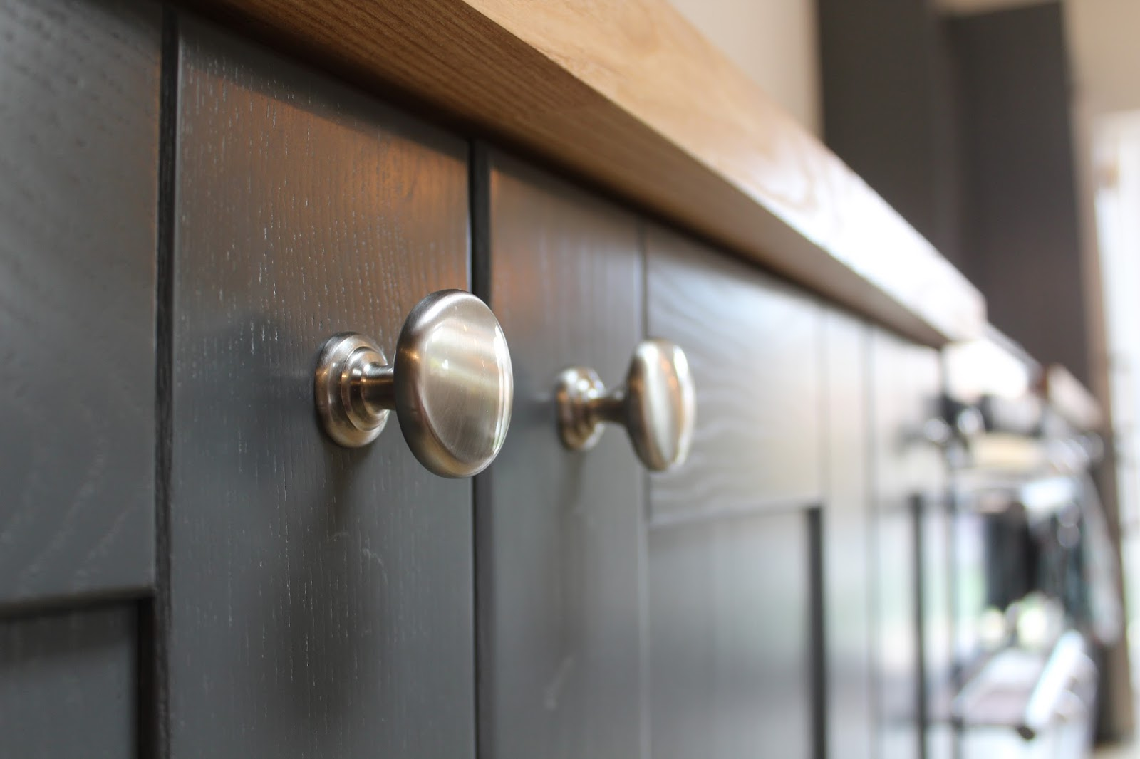 Satin Nickel Cabinet Knobs from Ironmongery Direct
