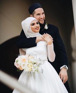 islamic couple hd wallpaper