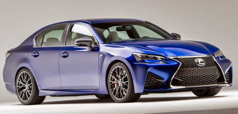 2016 Lexus GS F Concept and Release Date