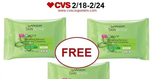 http://www.cvscouponers.com/2018/02/free-garnier-skinactive-clean.html