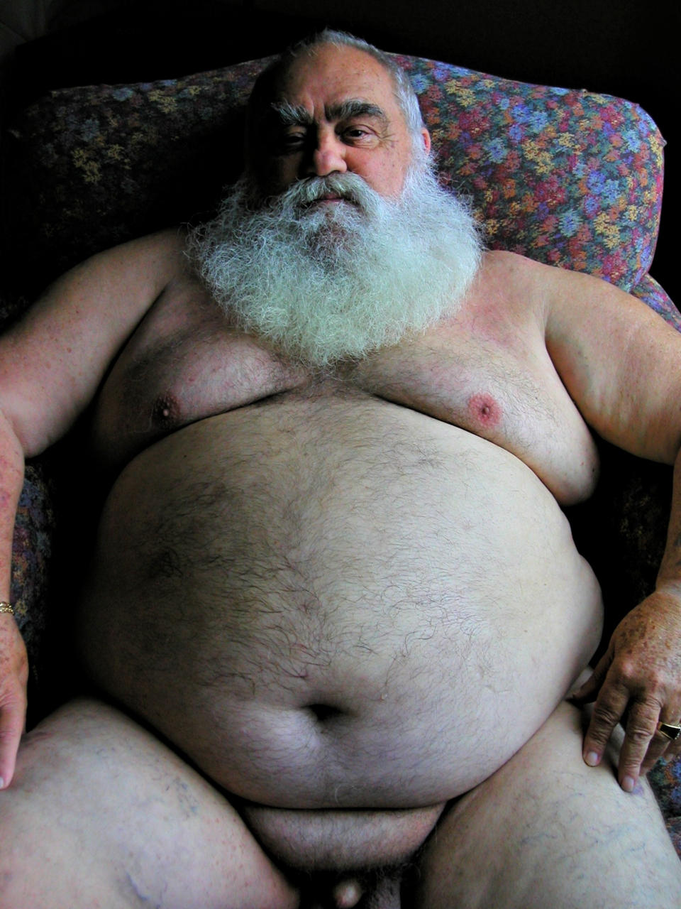 Gay old hairy fat