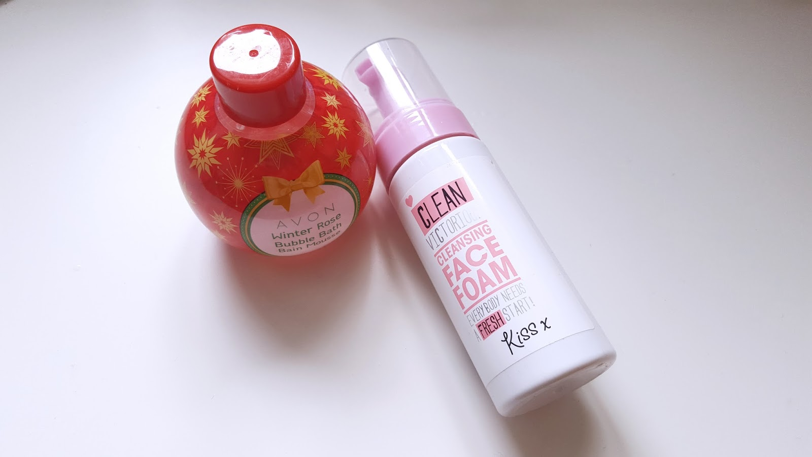 Avon Winter Rose Bubble Bath Wilko Kiss Face Foam Wash