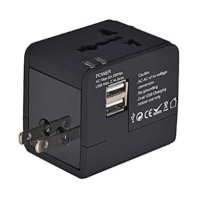Covertidor de voltaje y adaptador USB
