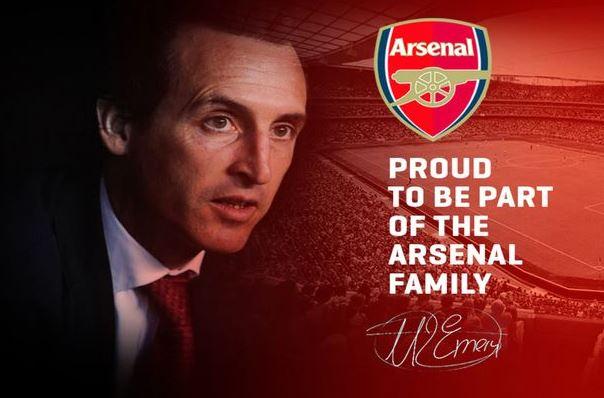 Unai Emery Confirmed As New Arsenal Boss