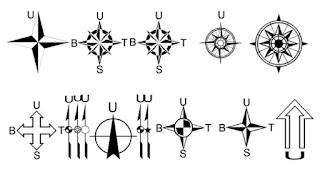 Cara Edit North Arrow (Panah Utara) pada ArcGIS