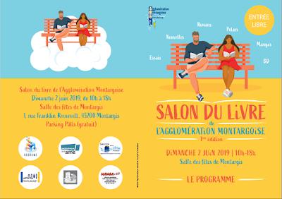Le Salon du Livre de l'agglomération Montargoise