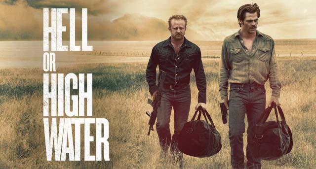 Bercerita tentang kisah dua orang kakak beradik yang sedang mengumpulkan sejumlah uang Sinopsis Film : Hell or High Water (2016)