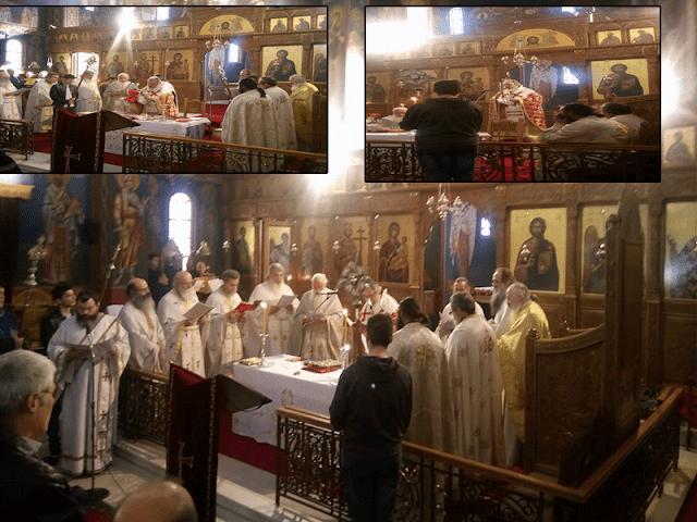 Πρέβεζα: Παραμονή Πρωτοχρονιάς στον Ι.Ν. Αγίων Κωνσταντίνου και Ελένης