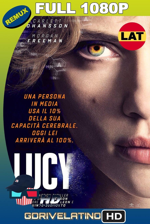 Lucy (2014) REMUX 1080p Latino-Inglés MKV