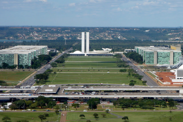 O muro de Brasília