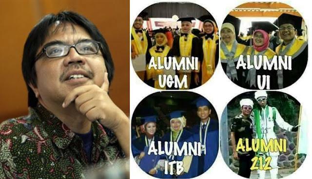 Ade Armanto Lecehkan Alumni 212 dengan Meme dan Tulisan Ini