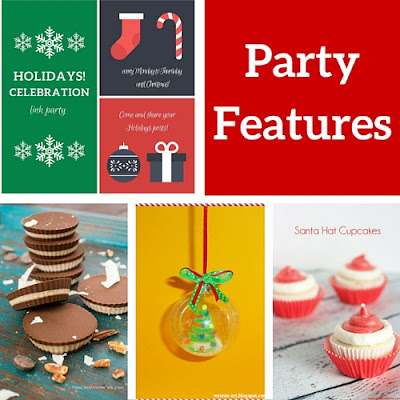 Holidays Celebration Link Party features