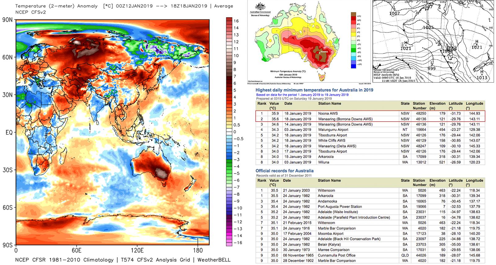 Vague De Chaleur En Australie Et Record Absolu De Géoclimat