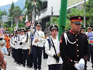 Banda marcial de la Salle colombia