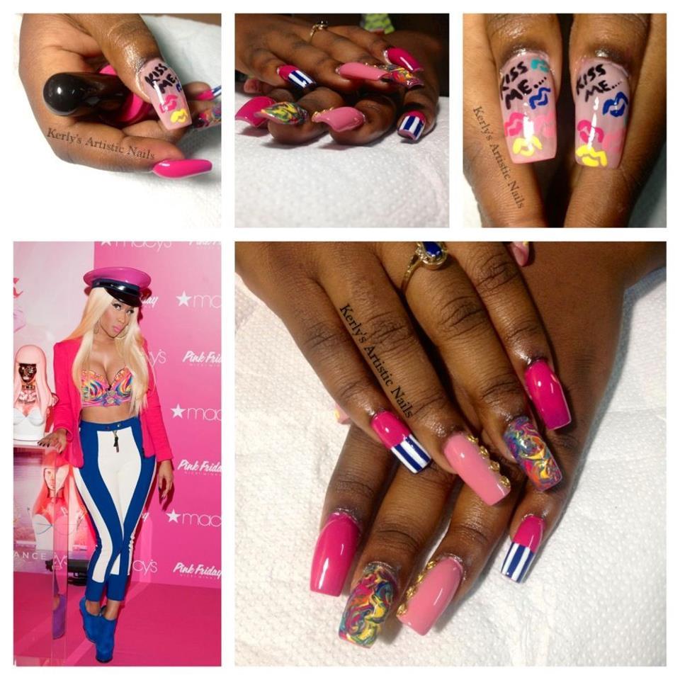 Nicki Minaj Nails 2014 | www.imgkid.com - The Image Kid ...