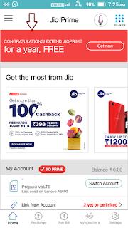 get one year free jio prime membership