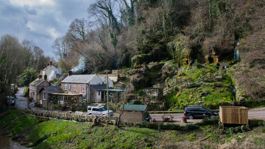 penallt viaduct, industrial heritage, boat inn pub