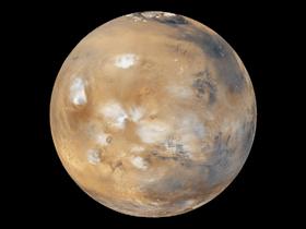 火星の雲(素材)