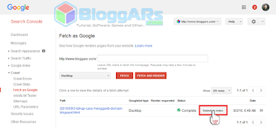 Cara Menggunakan Fetch as Google yang Benar di Webmaster