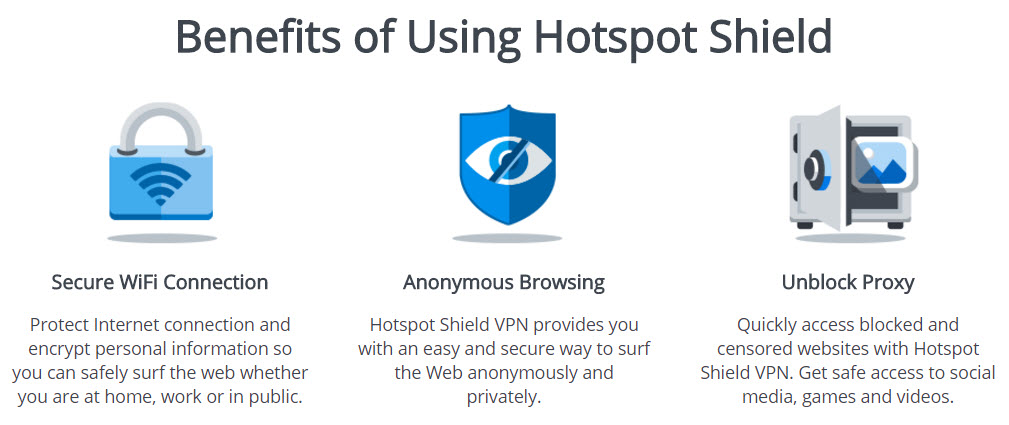 hotspot shield firefox