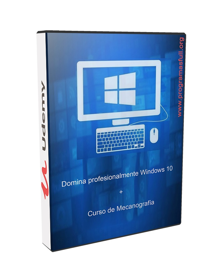 Domina profesionalmente Windows 10 español poster box cover