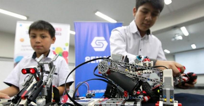SENATI dictará talleres de robótica y diseño 3D para niños y adolescentes - www.senati.edu.pe