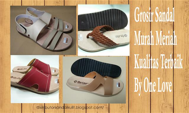 Jual distributor grosir sandal murah pria dan wanita