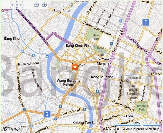 Suan Rommaninat Park Bangkok Location Map,Location Map of Suan Rommaninat Park Bangkok,Suan Rommaninat Park Bangkok accommodation destinations attractions hotels map reviews photos pictures