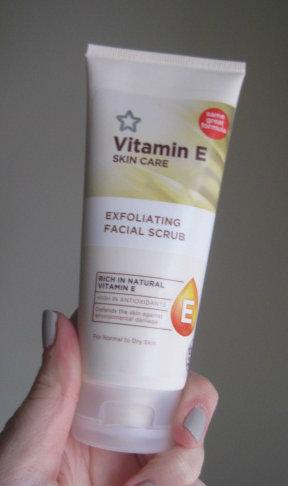 The Budgeting Beauty Blog Superdrug Vitamin E Exfoliating